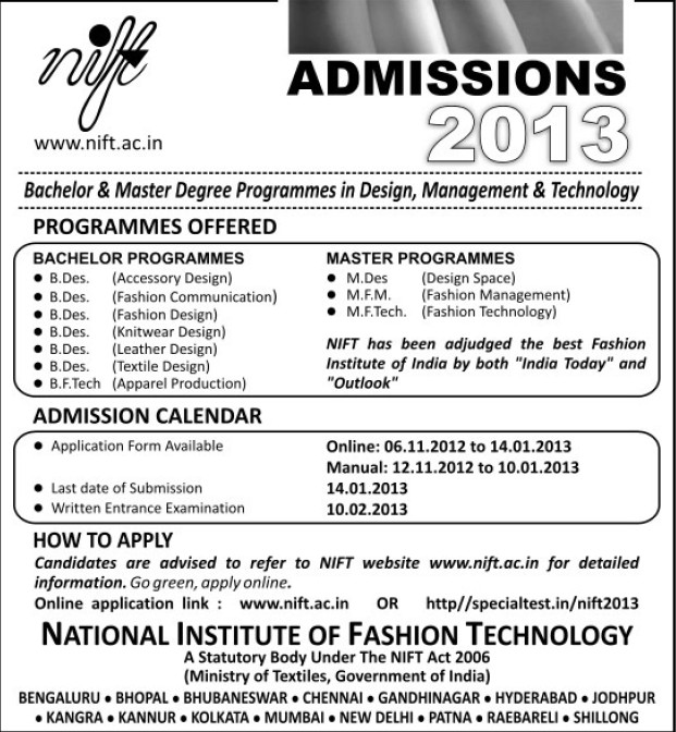 Global Institute Of Fashion Technology Admission