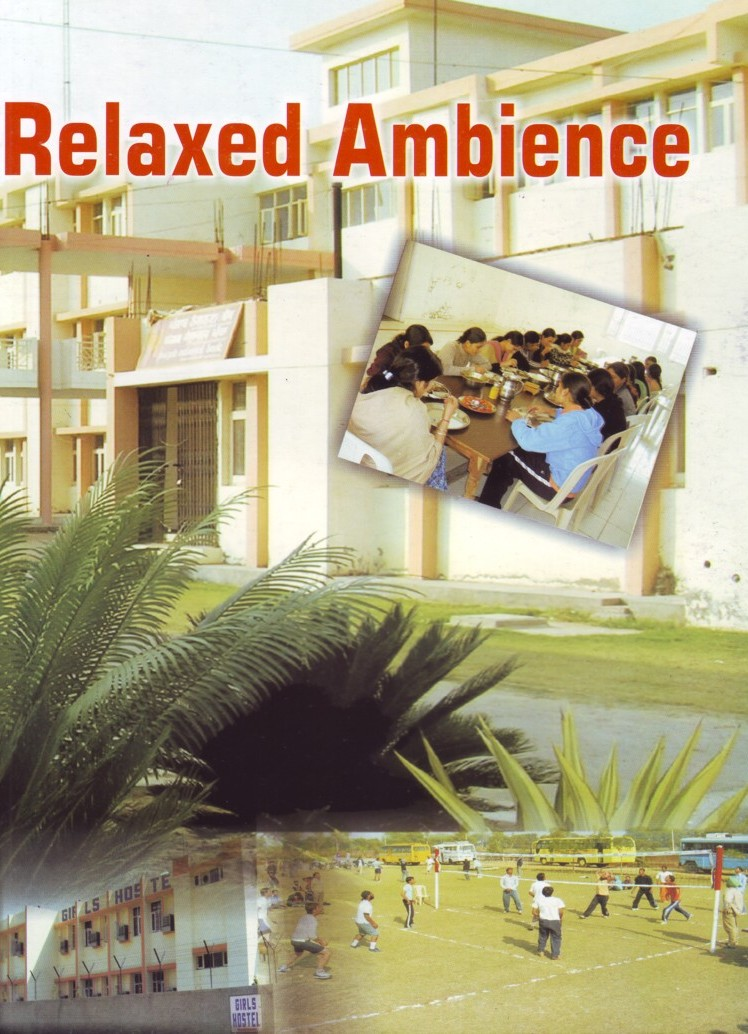 Relaxed Ambience (Bhai Gurdas Institute of Management and Technology (BGIMT))