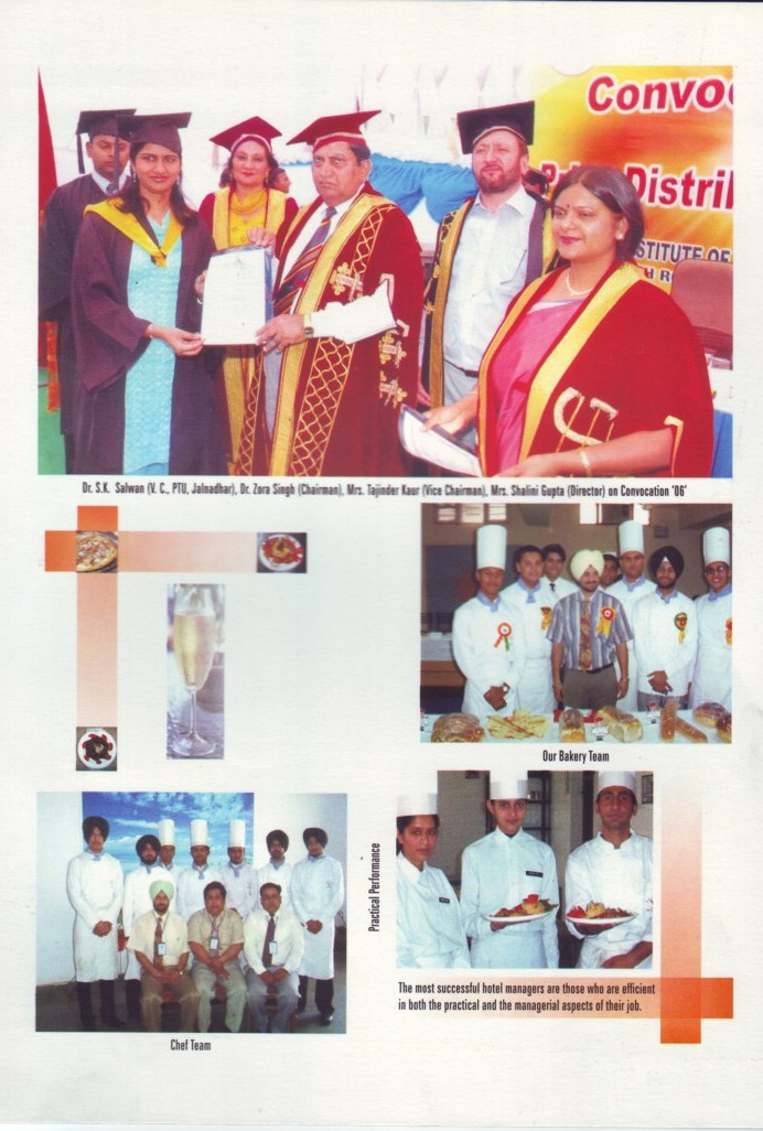 Photos of Annual Convocation (Desh Bhagat Institute of Hotel Management and Catering Technology)