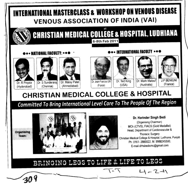 Venous Association of India (Christian Medical College and Hospital (CMC))