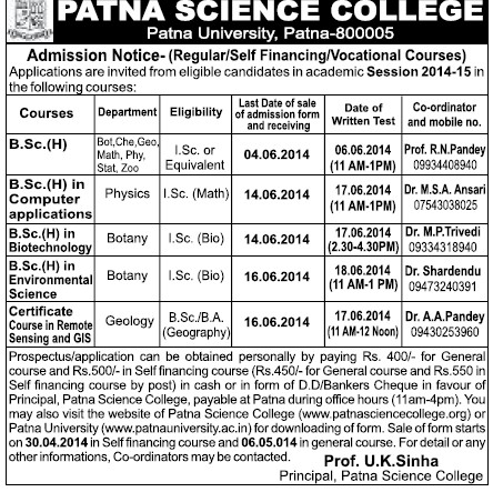 Environmental Science fa subjects in punjab college