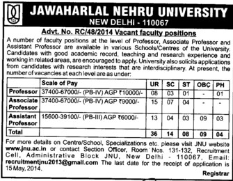 Assistant Professor (Jawaharlal Nehru University)