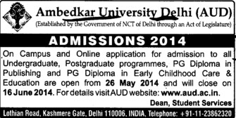 PGD in early childhood care (Bharat Ratna Dr BR Ambedkar University)