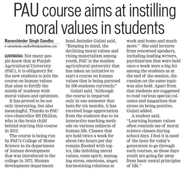 article on moral values among students Students' reasoning, assisted students in resolving moral conflicts, and ensured that the discussions took place in a value free environment the go al was to move the student to the next.