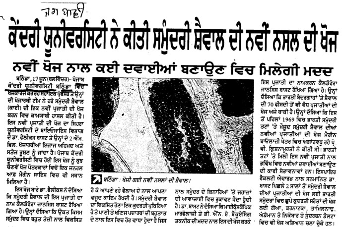 Central University researching on new techniques (Central University of Punjab)