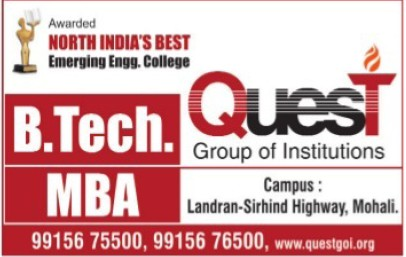 B Tech and MBA (Quest Group of Institutions)