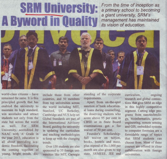 Profile of SRM University (SRM University)