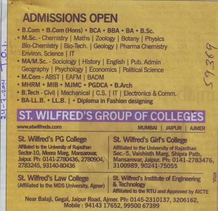 MCom, BA and LLB (St Wilfreds Group of Colleges)