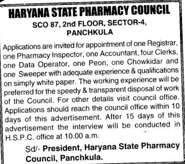 punjab and state pharmacy council Constitution and composition of state pharmacy councils — state government shall constitute the state council members  i am a registered pharmacists from punjab pharmacy council i got a.
