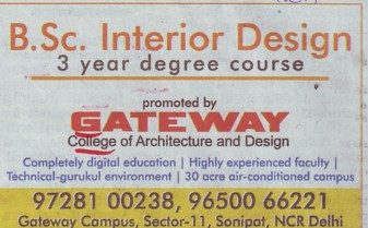 BSc in Interior Design (Gateway College of Architecture and Design)