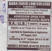 BA LLB course (International Divine Institute of Business Management and IT)