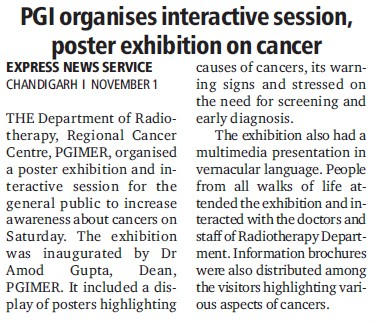 PGI organises interactive session (Post-Graduate Institute of Medical Education and Research (PGIMER))
