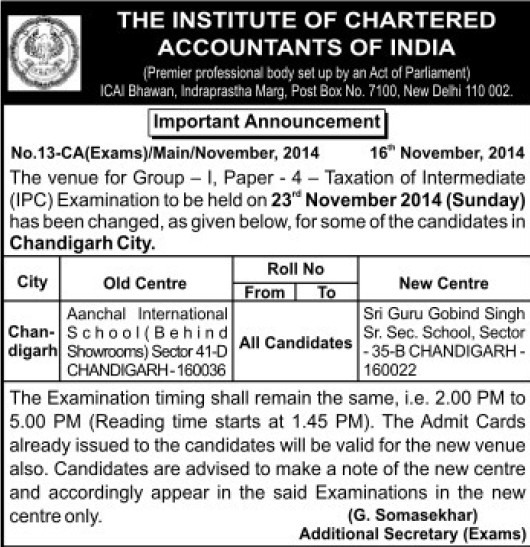 Taxation of Intermediate Examination (Institute of Chartered Accountants of India (ICAI))