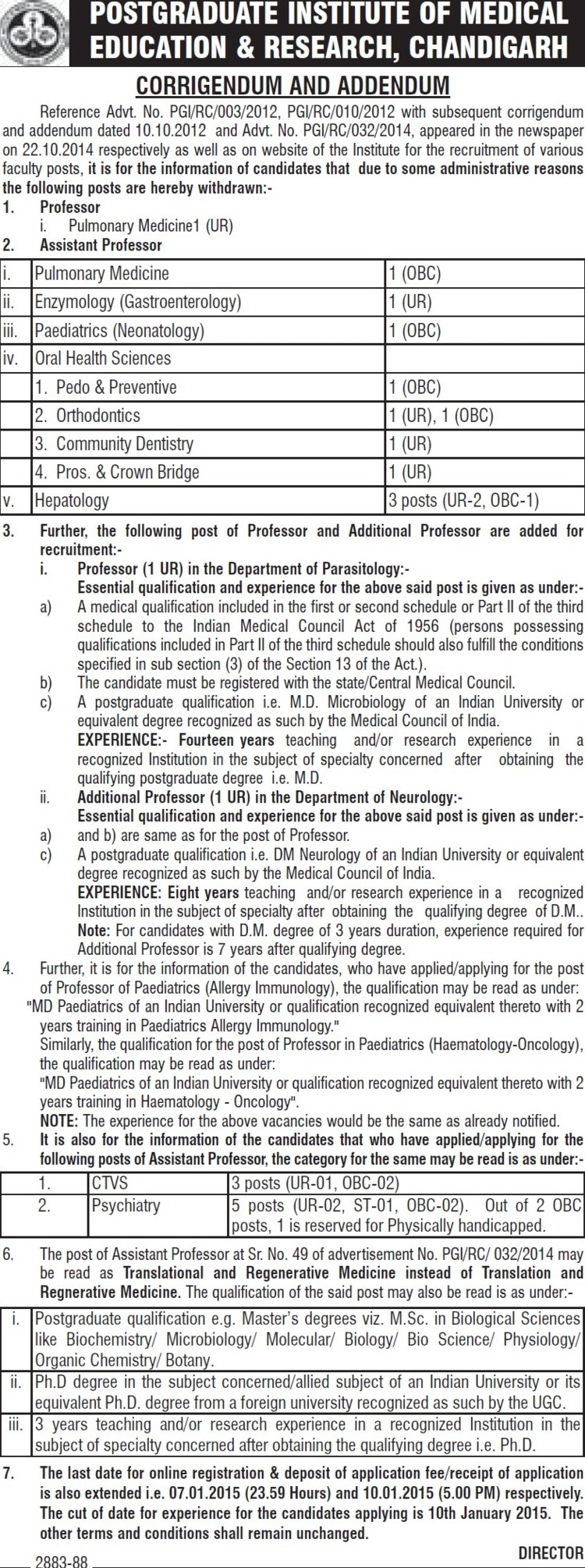 Asstt Professor for Hepatology (Post-Graduate Institute of Medical Education and Research (PGIMER))