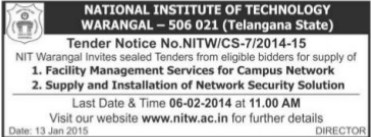 Installation of Network Security Solution (National Institute of Technology NIT)
