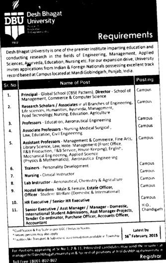 Lab Instructor (Desh Bhagat University)