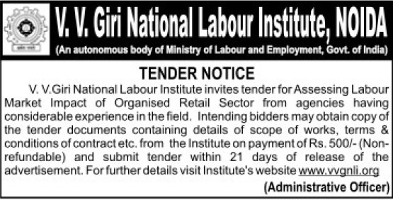 Assessing of Labour market (VV Giri National Labour Institute (VVGNLI))