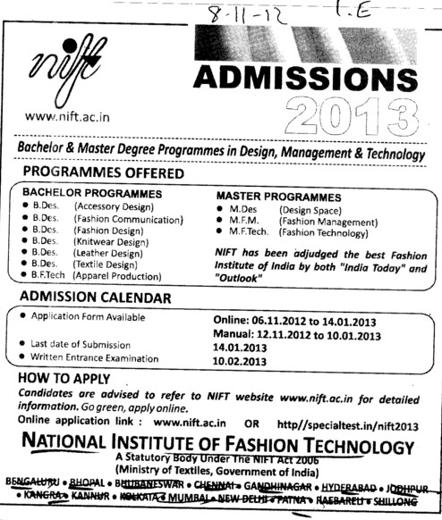 National Institute Of Fashion Technology Nift Raebareli