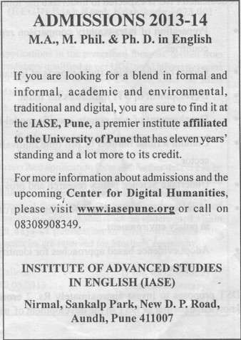 MA, M Phil and PhD Programme (Gangamai Education Trusts Arts Commerce and Science College)