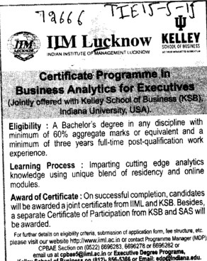 Image Result For Iim Businessytics Course