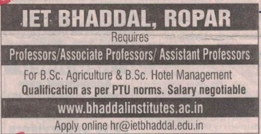 Institute of Engineering and Technology (IET) Bhaddal Punjab