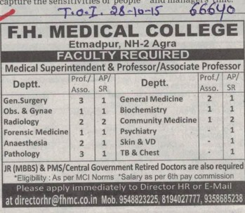 Associate Professor for Radiology (FH Medical College and Hospital)