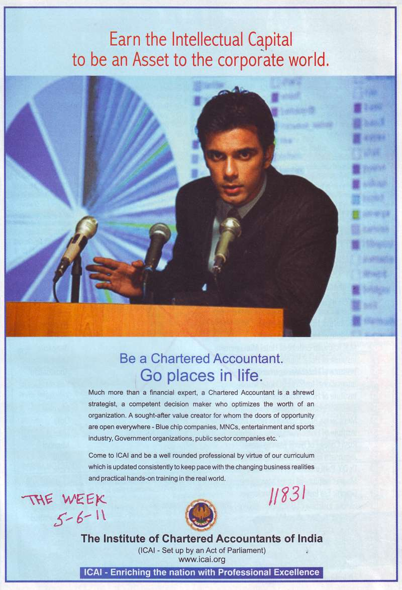 Go Places in Life (Institute of Chartered Accountants of India (ICAI))