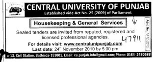 House keeping and General Service (Express Institute of Media Studies)