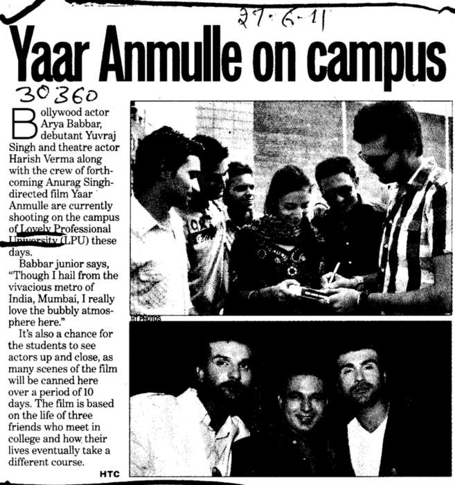 Yaar Anmulle on Campus (Lovely Professional University LPU)