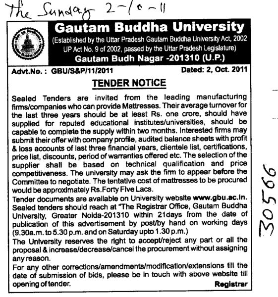 Manufacturing Firms and Companies (Gautam Buddha University (GBU))