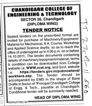 Machinery Material for Mechanical (Chandigarh College of Engineering and Technology (CCET))
