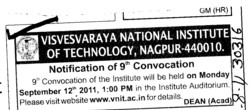 Annual Convocation (Visvesvaraya National Institute of Technology (VNIT))
