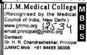 MBBS Course (JJM Medical College)