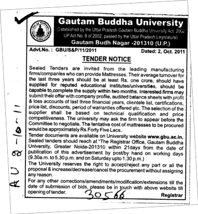 Manufacturing of Firms (Gautam Buddha University (GBU))