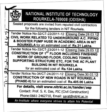 Reputed Civil Contractors (National Institute of Technology (NIT))