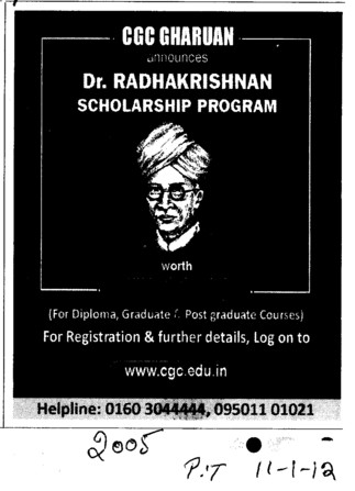 Diploma and Post Graduate Courses (Chandigarh Group of Colleges)