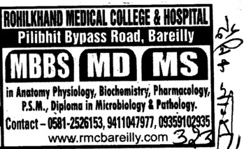 MD,MS and MBBS Courses (Charanjit Singh Memorial Institute of Nursing Education)