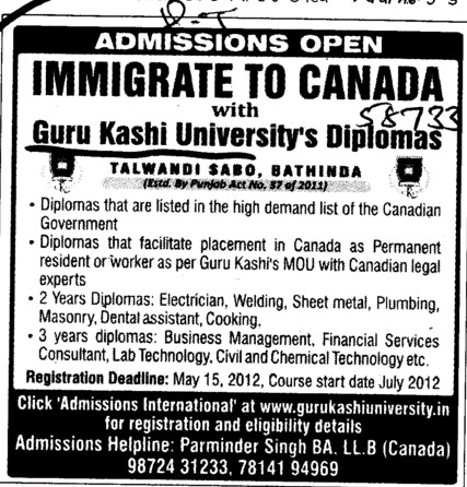 Two years Diploma in Elecrician and Welding etc (Guru Kashi University)