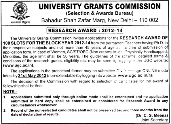university grants commission (ugc) new delhi delhi