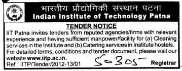 Cleaning Services (Indian Institute of Technology IIT)