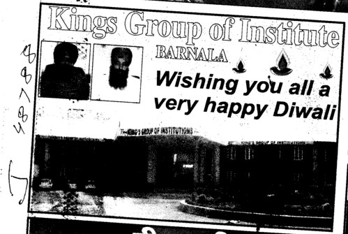 Wishing u a very Happy Diwali (Kings Group of Institutions)