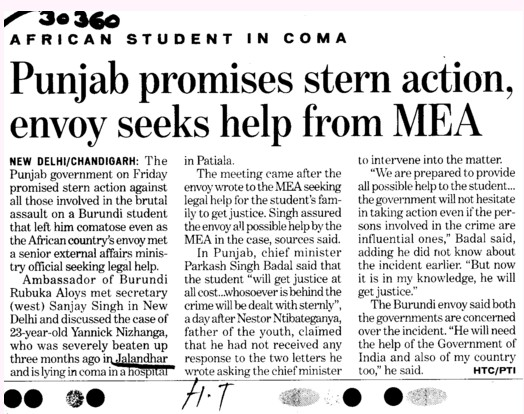 Punjab promises stern action, envoy seeks help from MEA (Lovely Professional University LPU)