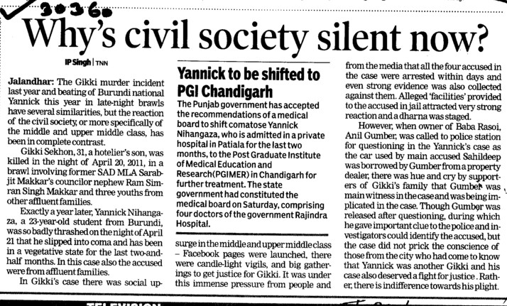 Whys Civil society silent now (Lovely Professional University LPU)
