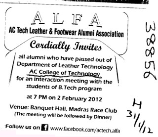 Cardially Invites (AC College of Technology)