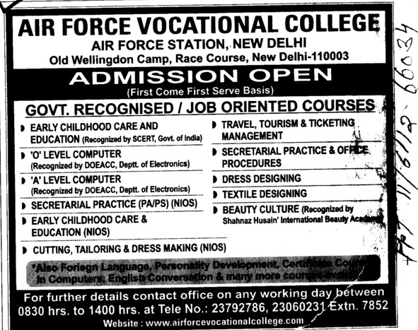 job oriented course List of short term courses(job oriented) related to electronics and communication engineering list of institutes for the same.