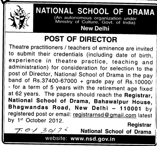 Director (National School of Drama)
