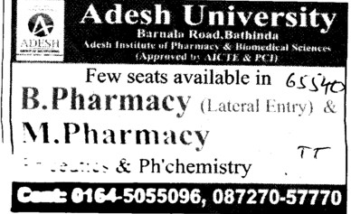 Pharmacy motheo college subjects