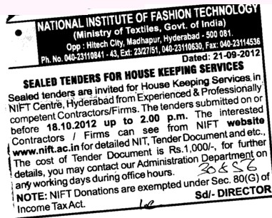 National Institute Of Fashion Technology Nift Hyderabad