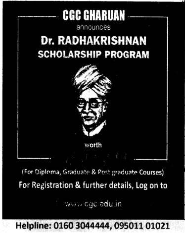 UG and PG Courses (Chandigarh Group of Colleges)