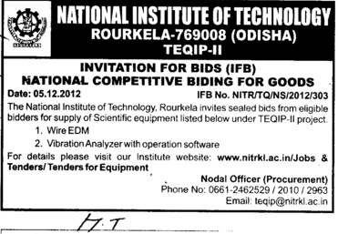 Wire EDM and Operation Software etc (National Institute of Technology (NIT))